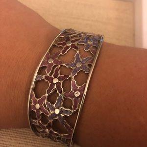 Sara Blaine Sterling Enamel Bracelet PRICE DROP!!!
